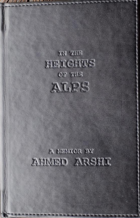geschenktes Buch Ahmed al Arshi